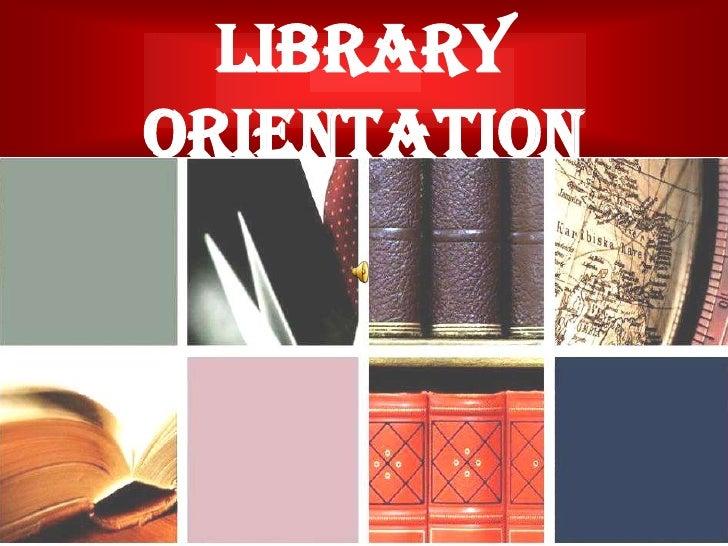 LRC Orientation