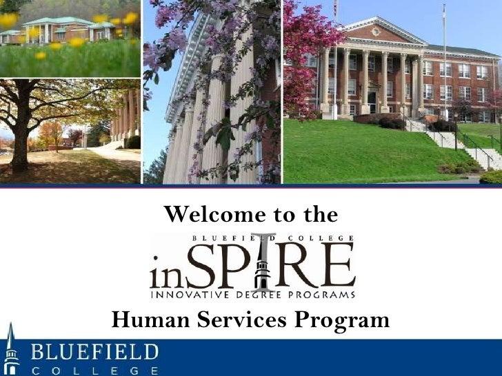 Orientation Human Services Program Fall 2012 Subterm 1