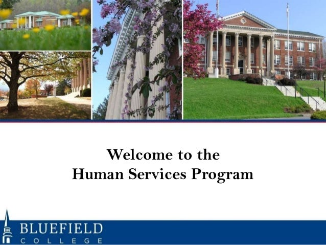 Welcome to the Human Services Program