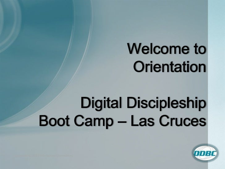 Orientation lascruces