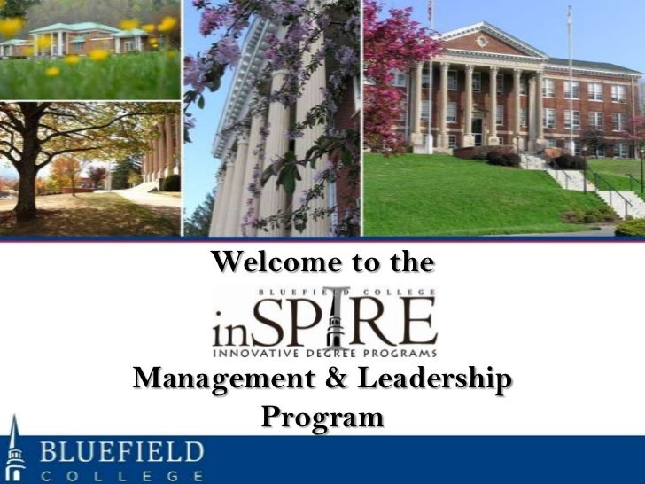 Welcome to theManagement & Leadership       Program