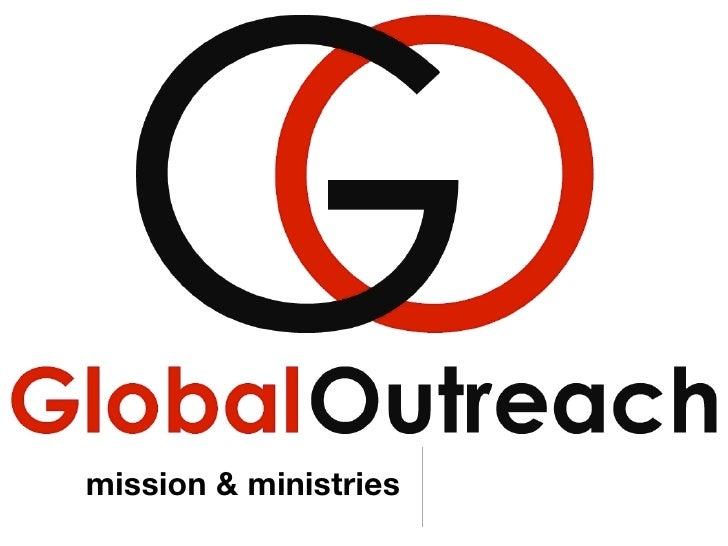 mission & ministries