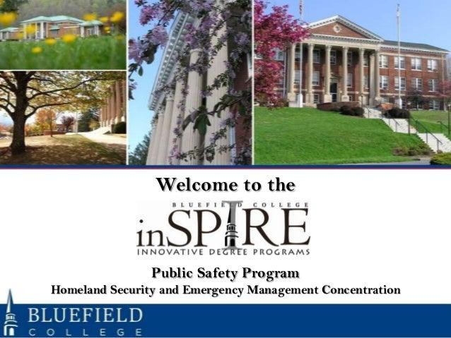 Orientation Public Safety March 4, 2013