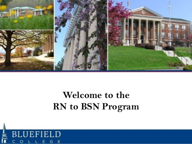 RN to BSN Orientation May 2014
