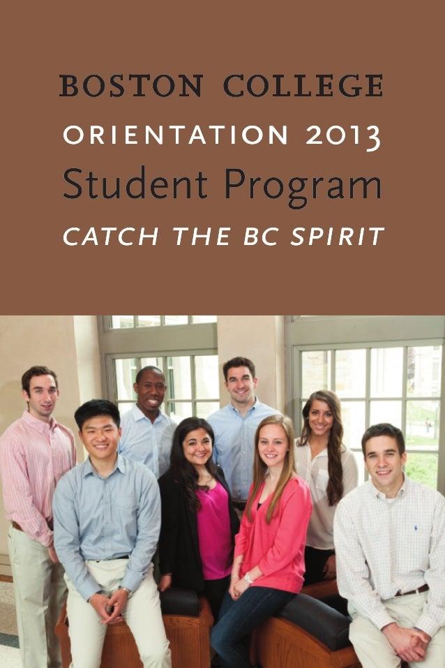 Orientation student program   2013 - sessions 1-6