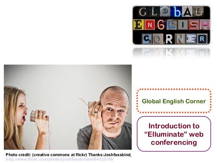 Global English Corner                                                                   Introduction to                   ...