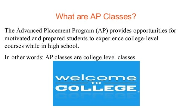 What are ap classes like?