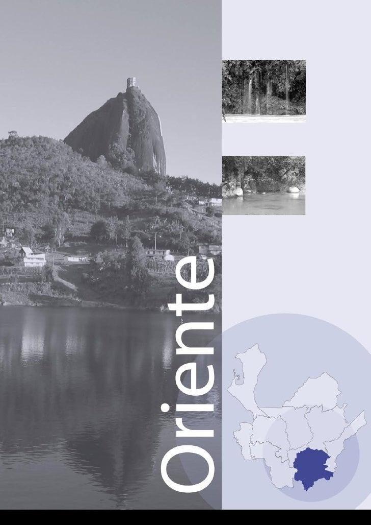 Perfil subregional del Oriente Contexto socioeconómico de la región