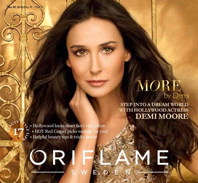 Oriflame catalogue5-2013