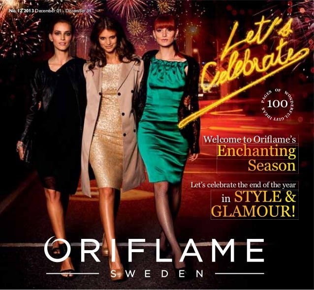 Oriflame India Catalogue December 2013