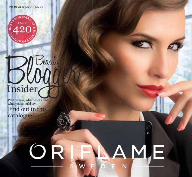 Oriflame Catalogue July 2013