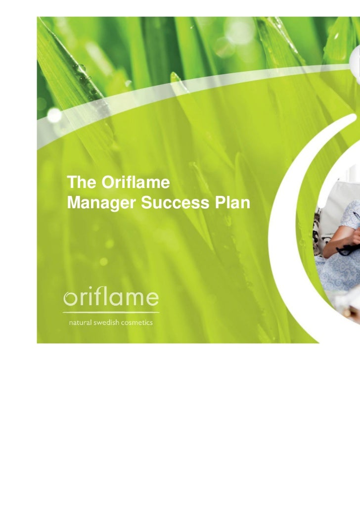 The OriflameManager Success Plan
