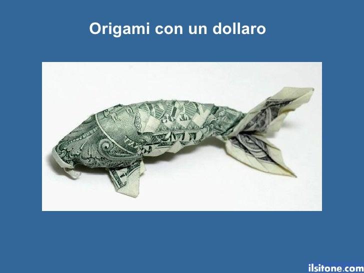 Origami con-un-dollaro