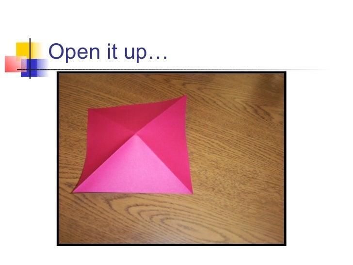 origami blow up box wwwimgkidcom the image kid has it