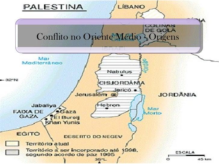 Conflito no Oriente Médio - Origens