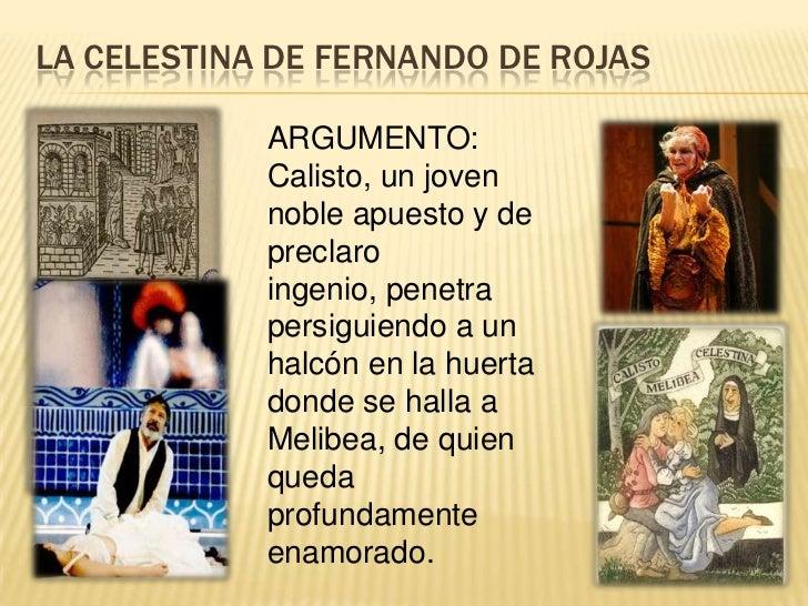 Origen de la literatura espa ola for La celestina argumento