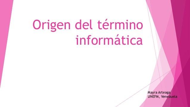 glosario de termino de informatica: