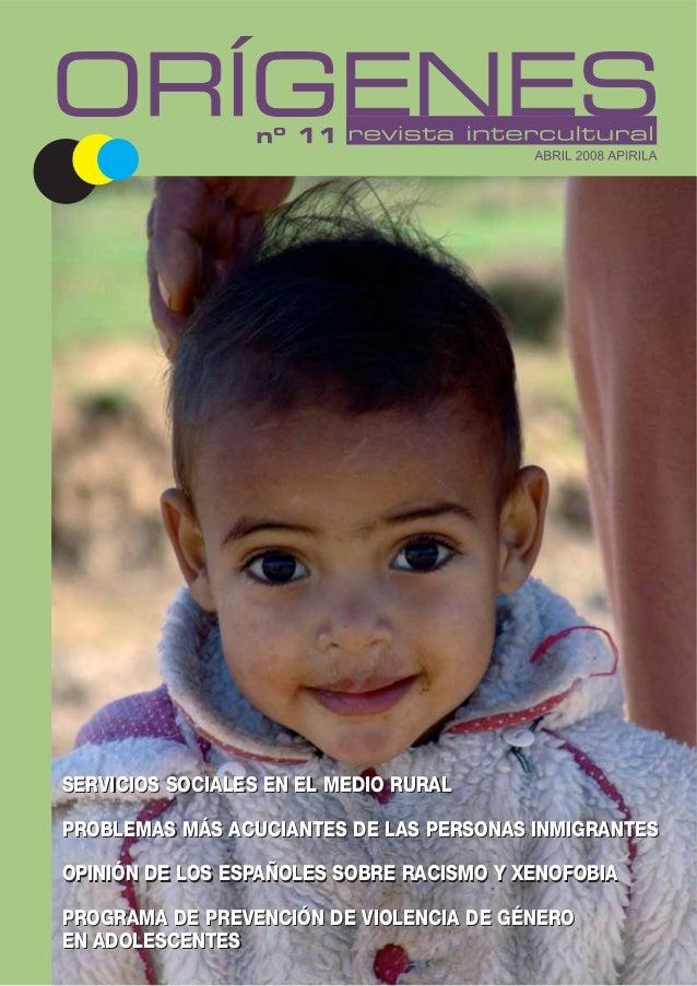 Revista Intercultural Orígenes nº 11