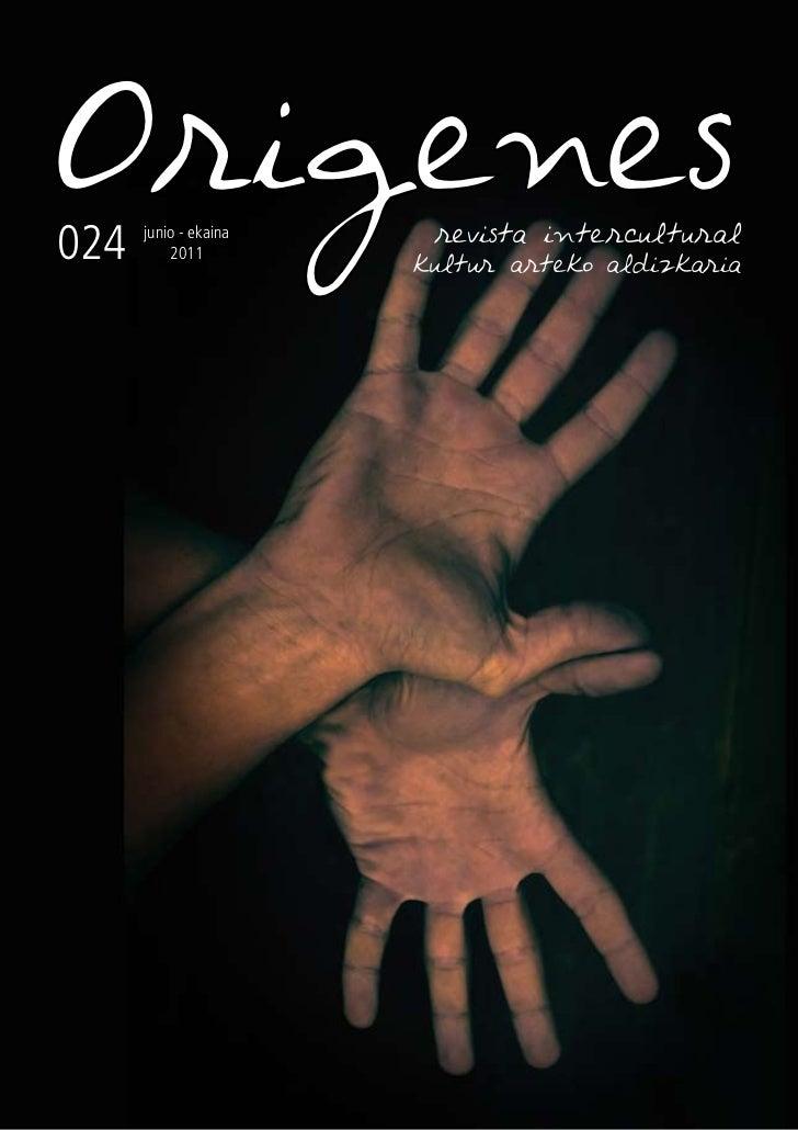 Revista Intercultural Orígenes nº 24