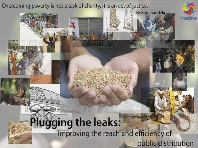 WHAT IS PDS? Public Distribution System (PDS) is a poverty alleviation program which contributes towards the social welfar...