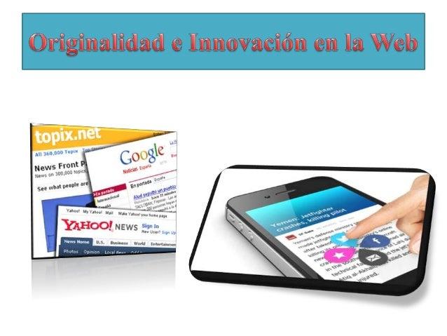 • A pesar de que la web nos brinda tantas herramientas para realizar un novedoso producto periodístico, aún se ven casos e...