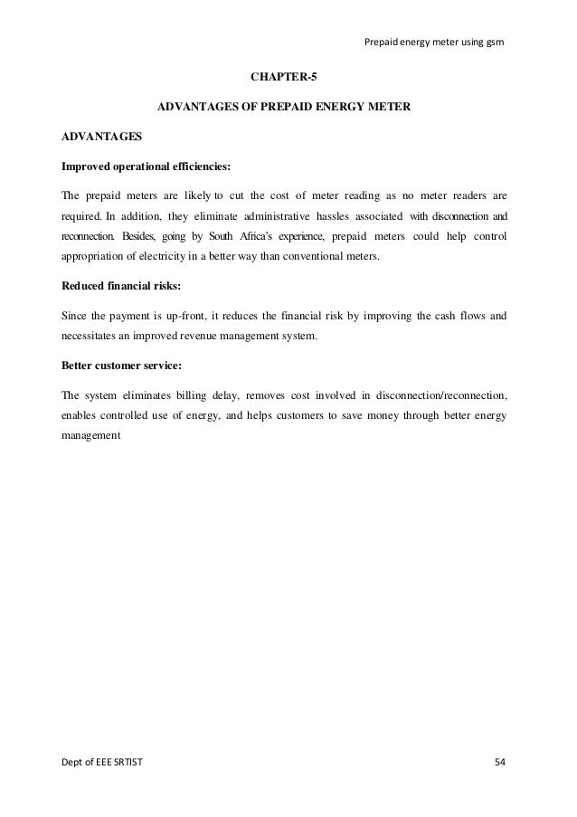 Document Of Prepaid Energy Meter Using Gsm
