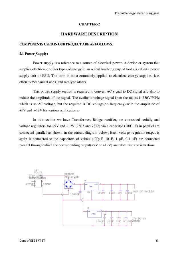 Thesis on prepaid electricity