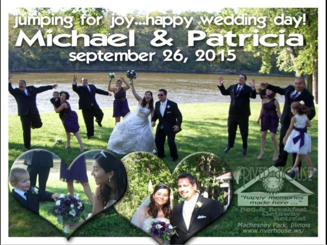 Summer Weddings, Ceremony and Reception, at River House Bed and Breakfast Getaway Retreat in Rockford Illinois