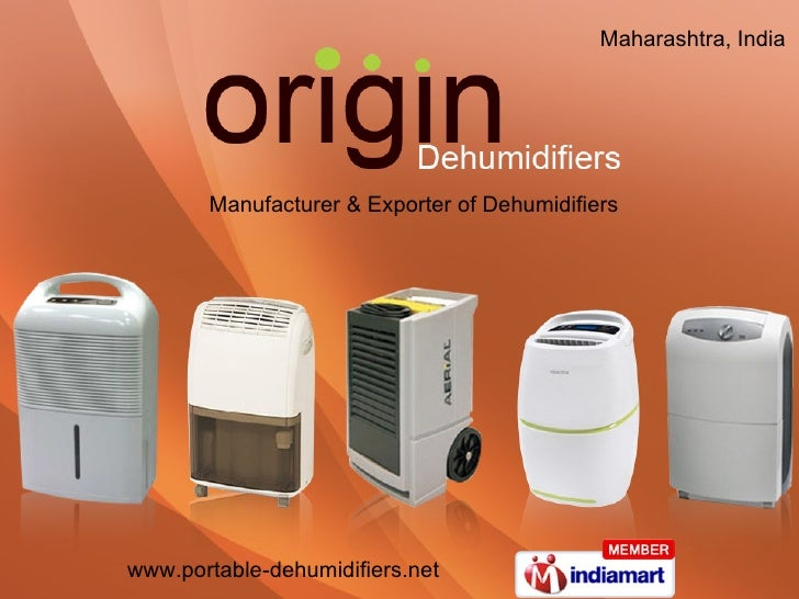 Manufacturer & Exporter of Dehumidifiers Maharashtra, India