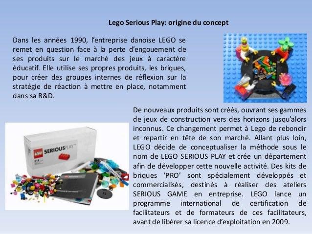 Lego Serious Play: origine du concept Dans les années 1990, l'entreprise danoise LEGO se remet en question face à la perte...
