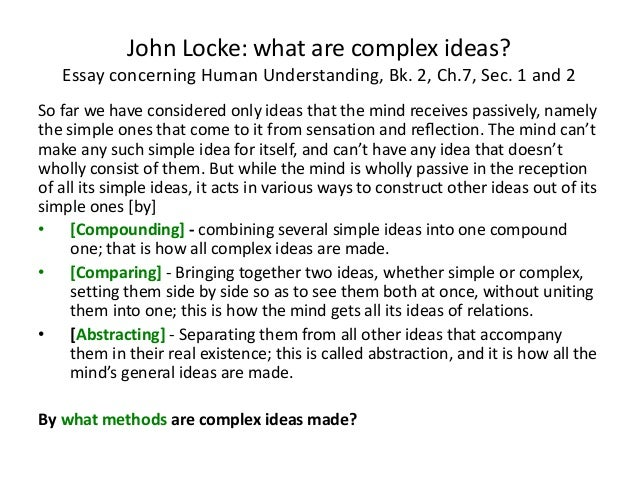 locke essay concerning human understanding book 1 Buy essay concerning human understanding new edition by john locke, a d woozley (isbn: 9780006410409) from amazon's book store everyday low prices and free.