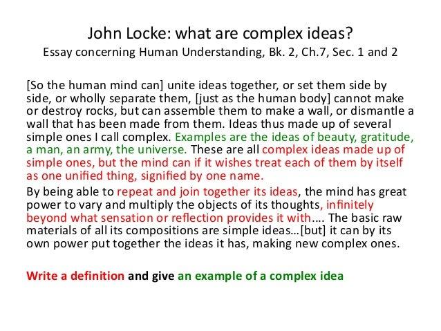john locke essay of human understanding summary