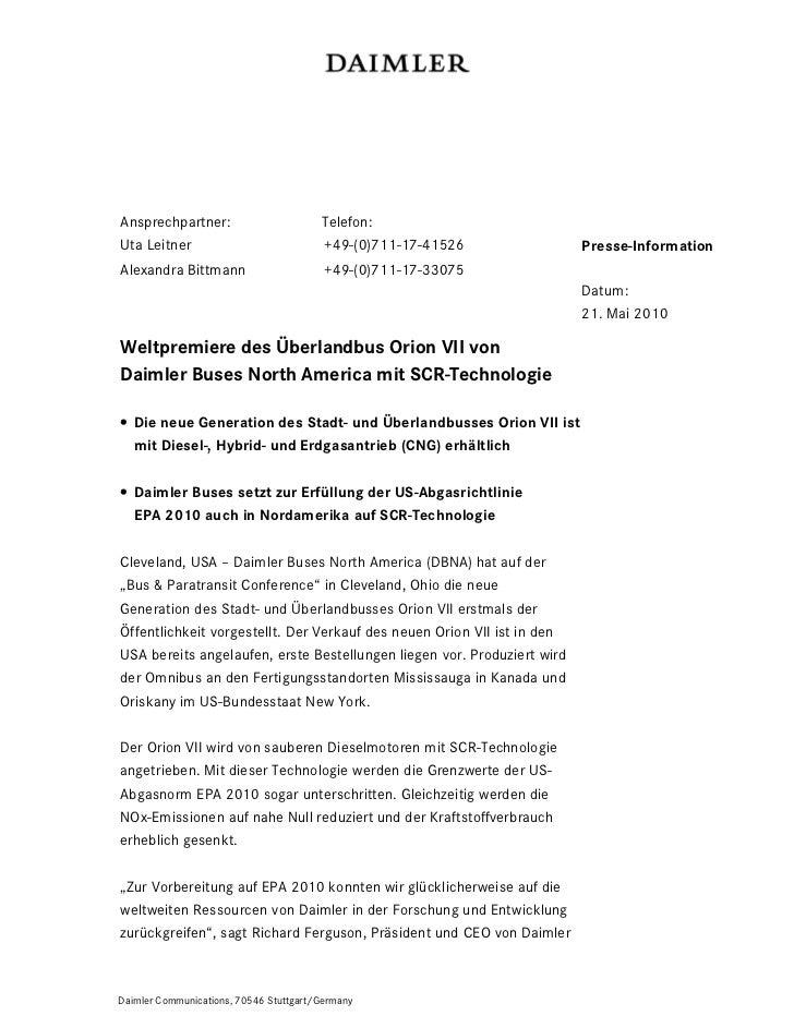 Ansprechpartner:                        Telefon:Uta Leitner                             +49-(0)711-17-41526              P...