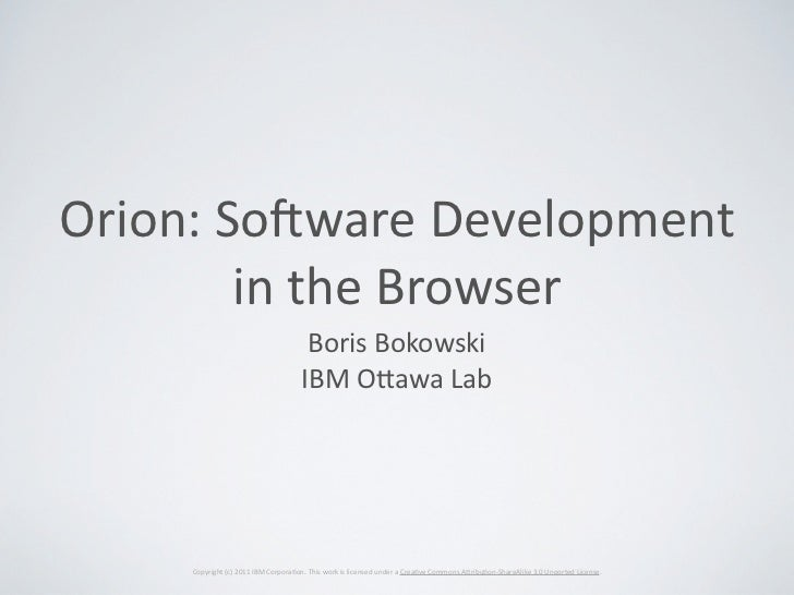 Orion (What's Next conference)