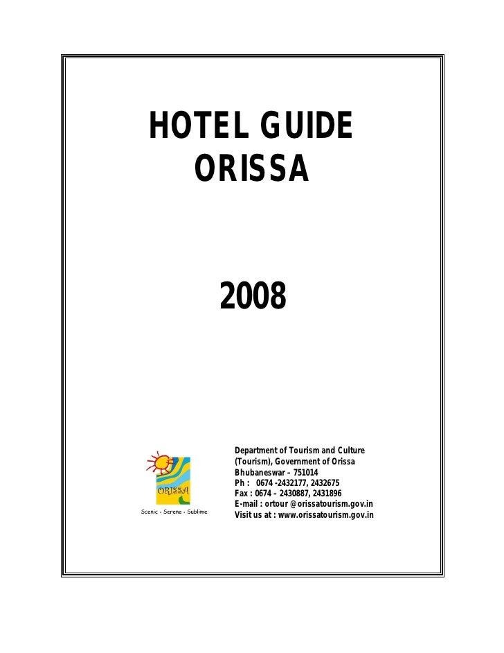 Orissa hotel