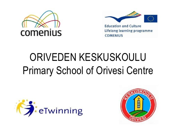 Oriveden Keskuskoulu 2010 - Presentation in English