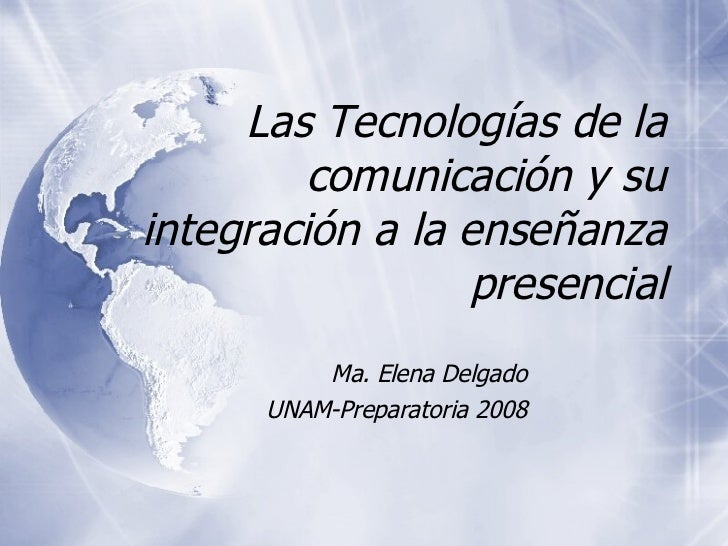 Tecnología web2 en el salon