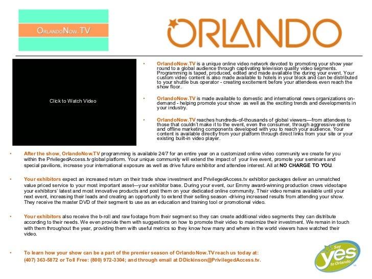 Orlando Now.Tv Sell Sheet Oct08