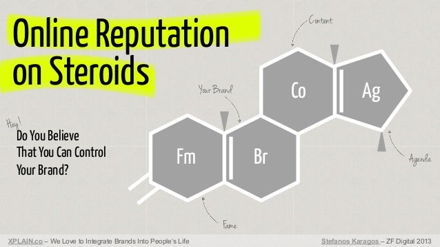 Online Reputation on Steroids  Content  Co  Your Brand  Ag  Hey!  Do You Believe That You Can Control Your Brand?  Fm  Br ...