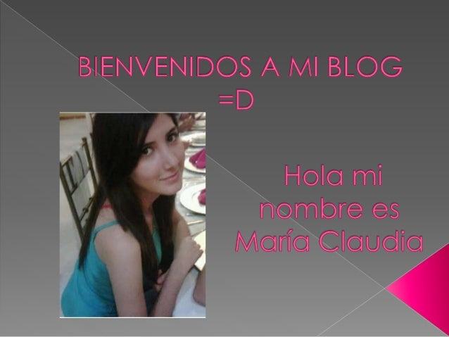 BIENVENIDOS A MI BLOG = D  HOIO mI nombre es MOríO Claudio  -  3er .  .