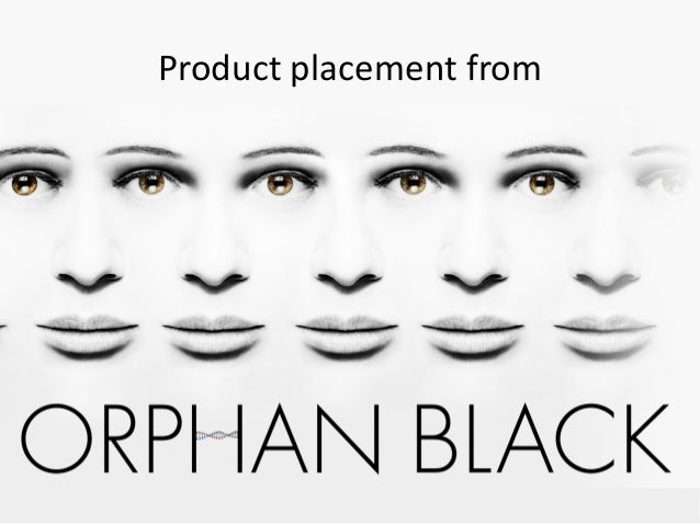 Product placement from Orphan black