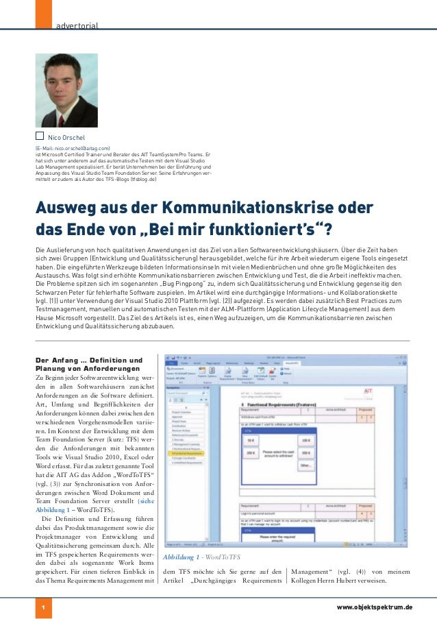 advertorial                                                                             der autor      Nico Orschel(E-Mail...
