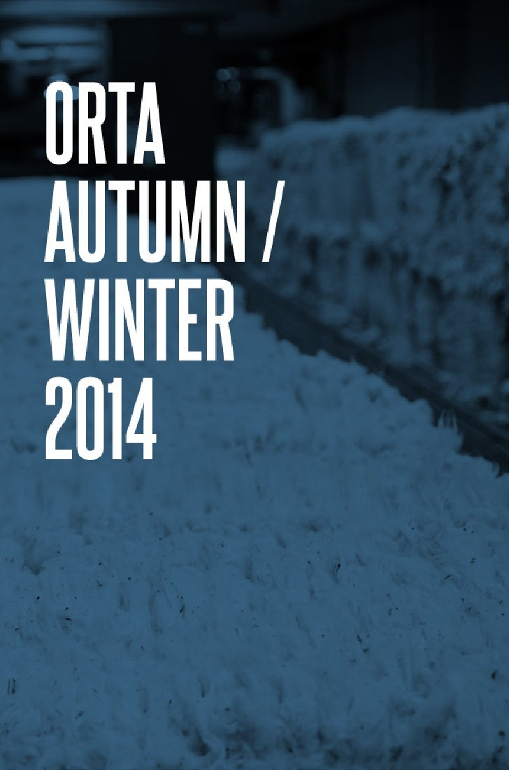 Autumn Winter 2013/2014 Denim Collections by Orta