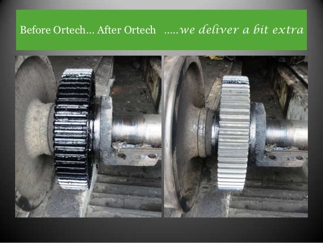 Before Ortech… After Ortech …..we deliver a bit extra