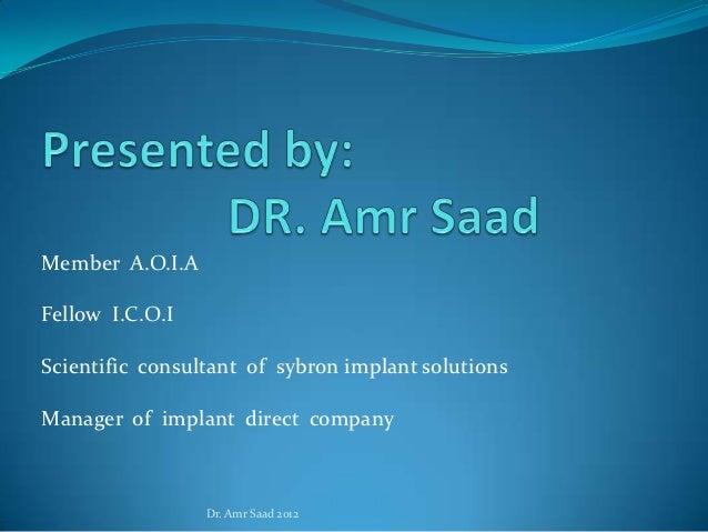 Orthodontic implants