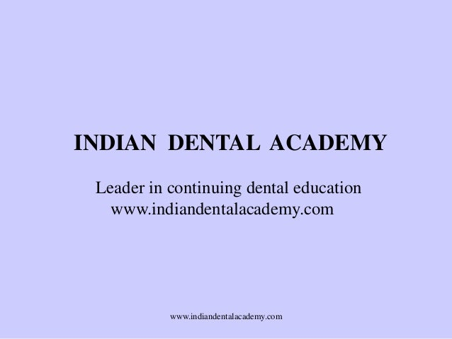 Orthodontic splints /certified fixed orthodontic courses by Indian dental academy