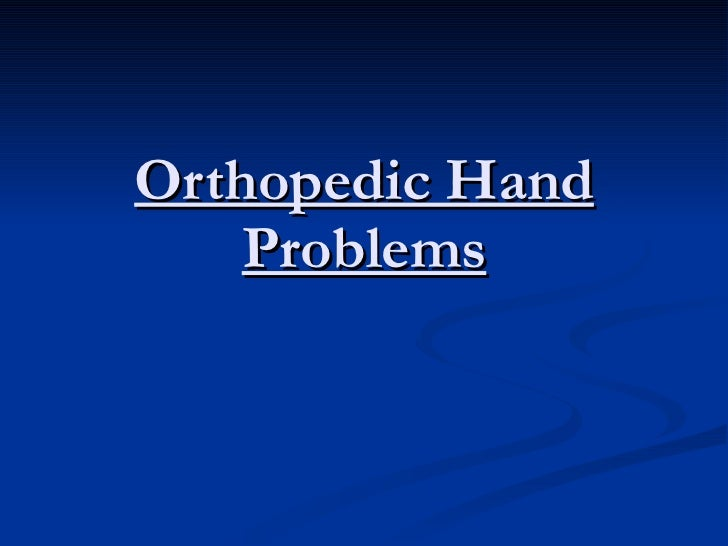 Orthopedics 5th year, 5th lecture (Dr. Ariwan)