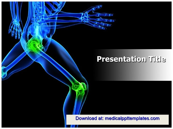 Orthopedic (surgery) powerpoint templates