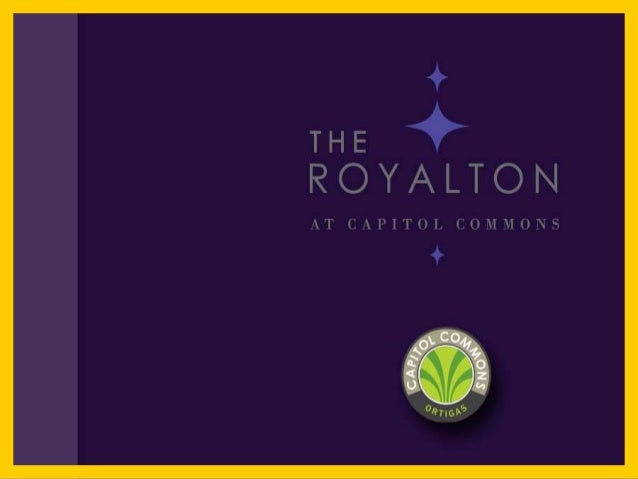 THE ROYALTON in Capitol Commons Pasig By Ortigas & Company