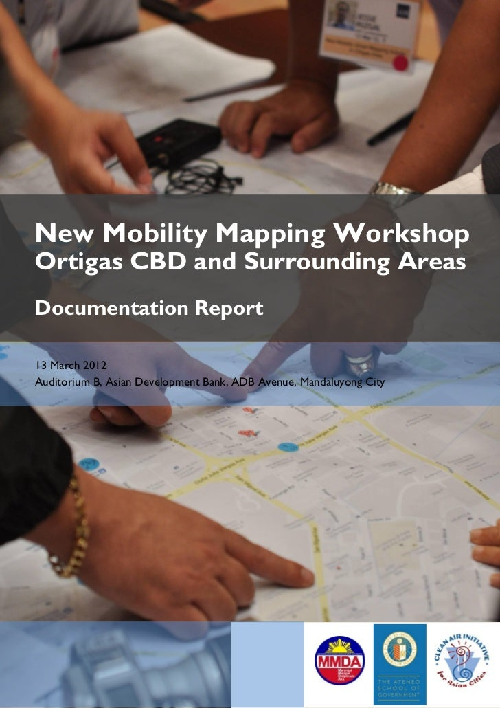 Ortigas New Mobility Mapping Documentation